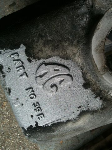A rare AC Buckland alloy block receives the Soda Blasting treatment
