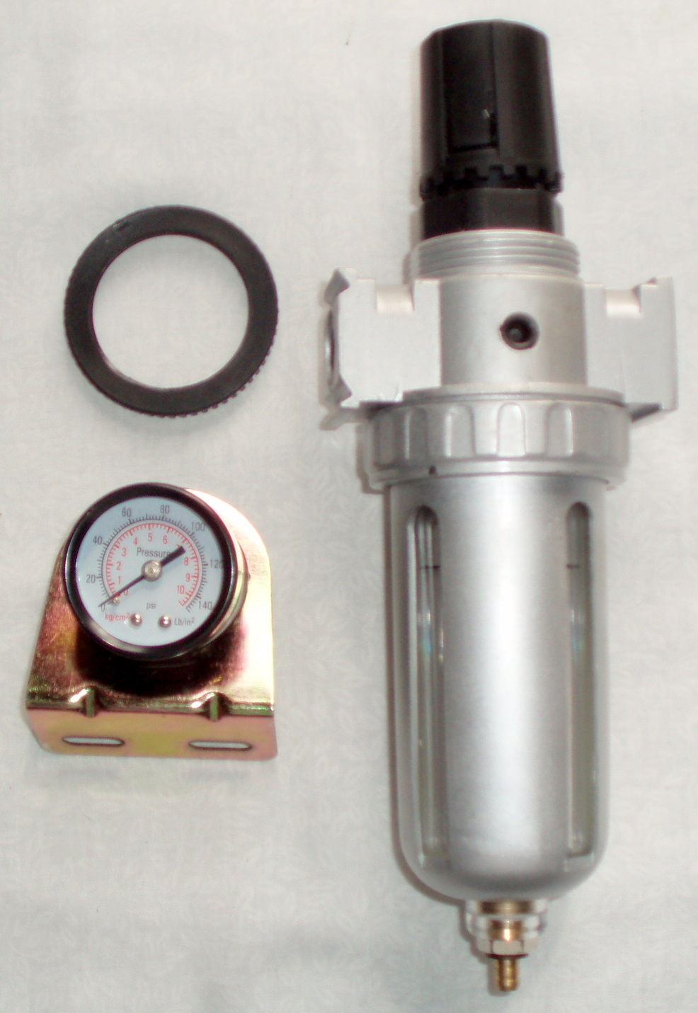 Pressure Regulator & Water Trap